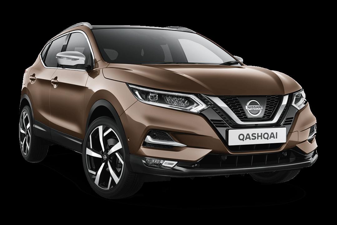 Nissan-qashqai-med-färgen-chestnut-bronze