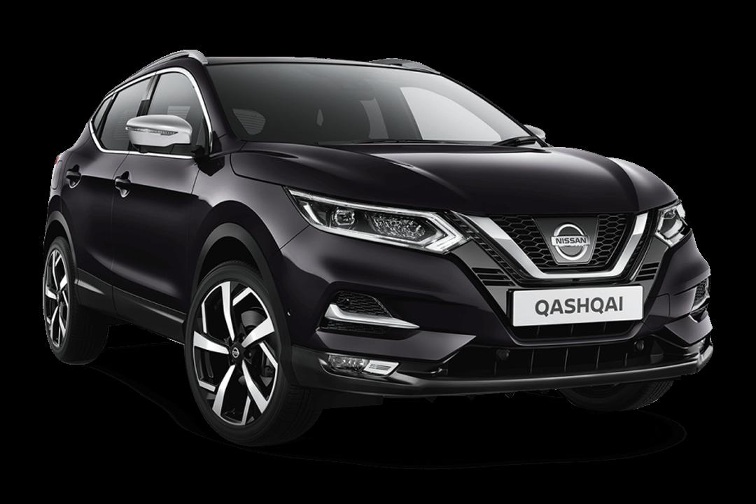 Nissan-qashqai-med-färgen-night-shade