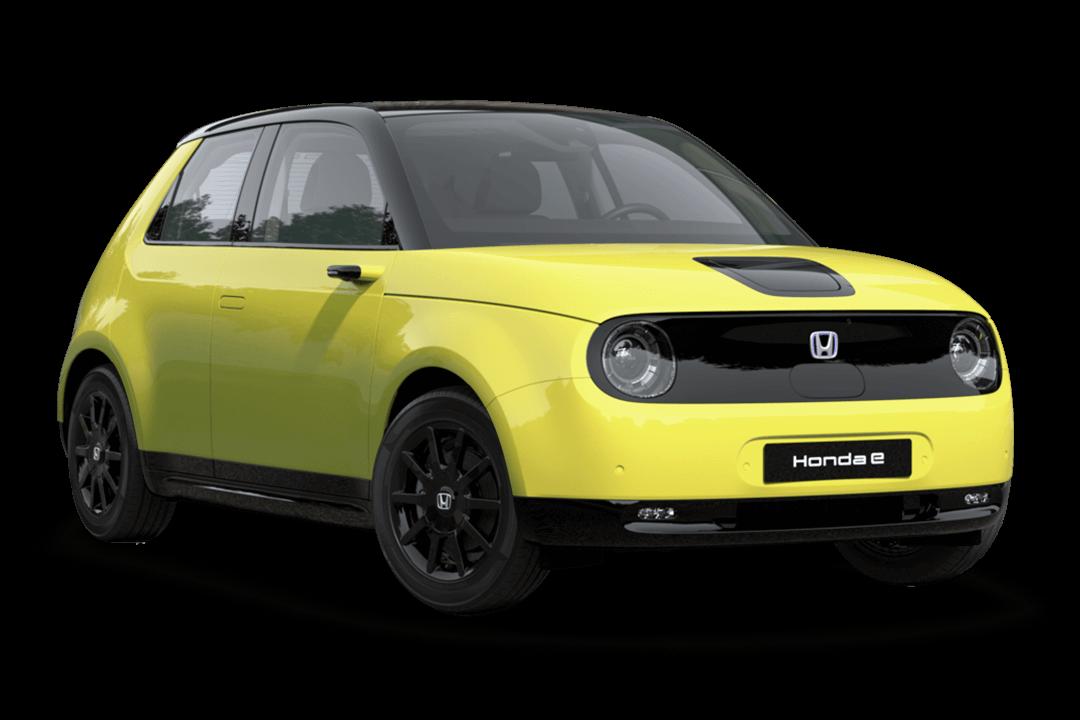 honda-e-charge-yellow